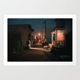 Coal Country, Pennsylvania Art Print