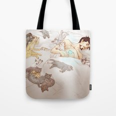 A PILE OF KITTENS Tote Bag