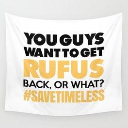 #SAVETIMELESS Wall Tapestry