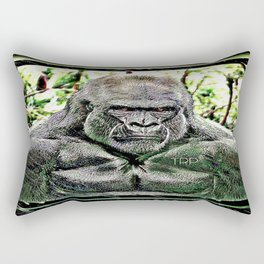 Primate Models: Mad Gorillas 01-01 Rectangular Pillow