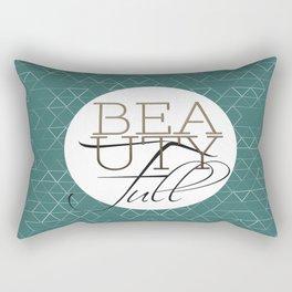 Beauty Full Rectangular Pillow