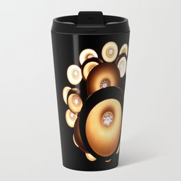 Abstract chandelier, abstract pattern lights Travel Mug