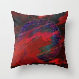 Atmospheric Disturbance - World 22-01-17 Throw Pillow