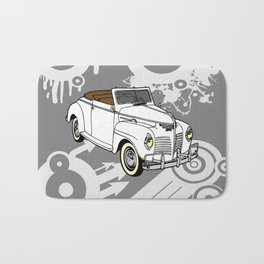 unique car I Bath Mat