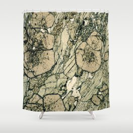 Garnet Crystals Shower Curtain