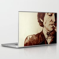 bob dylan Laptop & iPad Skins featuring Bob Dylan by Farinaz K.