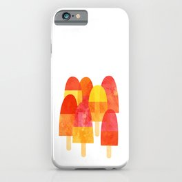 Ice Lollies and Popsicles iPhone Case