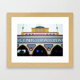 Scenic Railway Framed Art Print