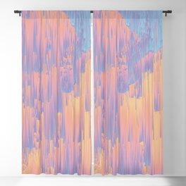 Chillhop Beats - Abstract Pixel Art Blackout Curtain