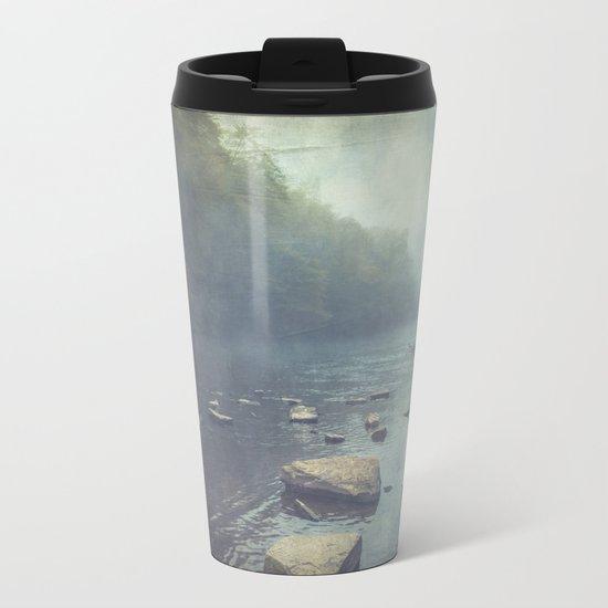 Stones in A River Metal Travel Mug