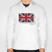 union jack Hoodies featuring Union by rob art | simple