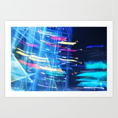 Twilight Journey Art Print