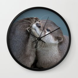 Big Hugs Wall Clock
