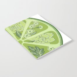Lime Notebook