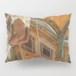 Miss La La At The Cirque Fernando 1879 By Edgar Degas | Reproduction | Famous French Painter Pillow Sham
