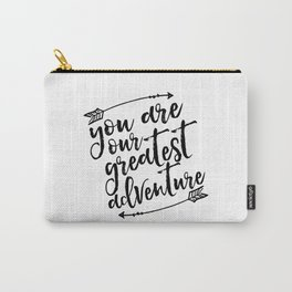 PRINTABLE Art,You Are Our Greatest Adventure,Arrow Print,Nursery Decor,Typography Print,Quotes Carry-All Pouch
