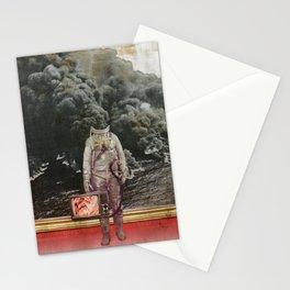 aus gebrannt Stationery Cards
