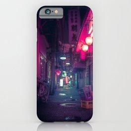 Tokyo Neon Underworld iPhone Case