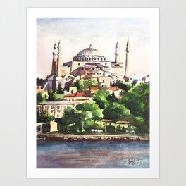 Istanbul Turkey Hagia Sophia Art Print