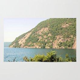Roger's Rock on Lake George Rug