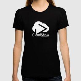 CloudShow (white logo) T-shirt