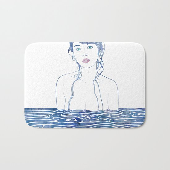 Water Nymph LXXI Bath Mat