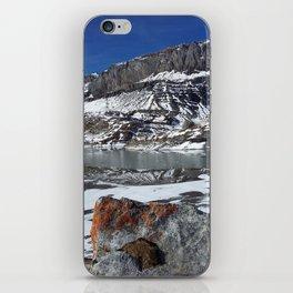 Daubensee lake above Leukerbad, Valais, Swiss Alps II iPhone Skin