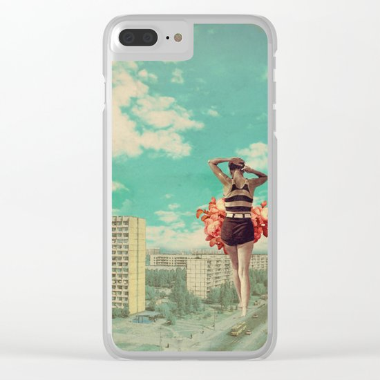 Coming Back Clear iPhone Case