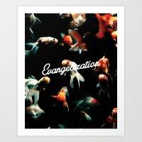 Evangelization Art Print