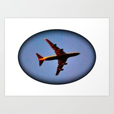 It's Actually a Plane! Art Print