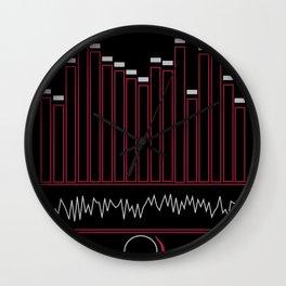 Crank The Volume Wall Clock