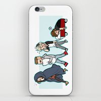 kendrawcandraw iPhone & iPod Skins featuring Sleepy Time by kendrawcandraw