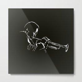 Miles Metal Print
