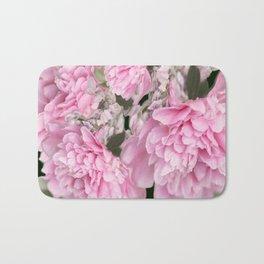 Pink Bouquet On A Black Background  #society6 #buyart Bath Mat