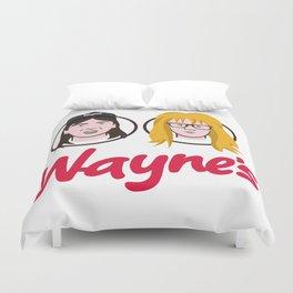 Wayne's Double Duvet Cover