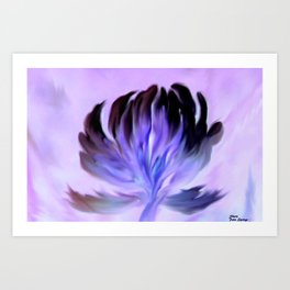 I OPEN MY HEART TO YOU Art Print