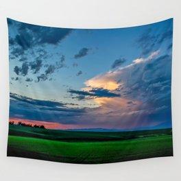 Montana Sunset Wall Tapestry