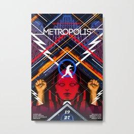 Visions of the Future :: Metropolis Metal Print