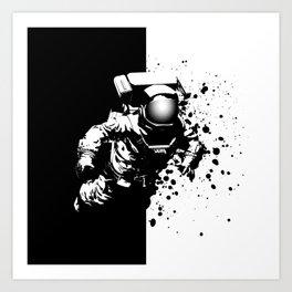 Cosmic Breakthrough Art Print
