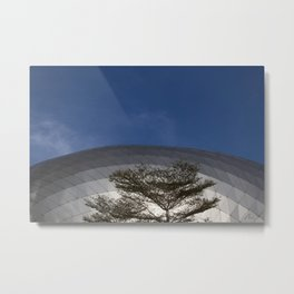 Urban Tree Metal Print