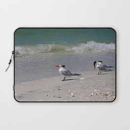 Waiting for Waves Laptop Sleeve