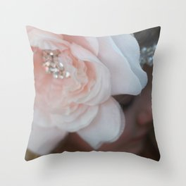 Petite Bling Throw Pillow