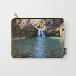 Alone in Secret Hollow with the Caves, Cascades, and Critters, No. 21 of 21 Carry-All Pouch