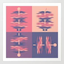 Argile Dimensions Art Print