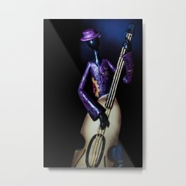 "The Band ""Bass"" Metal Print"