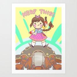 Nerf This! Art Print