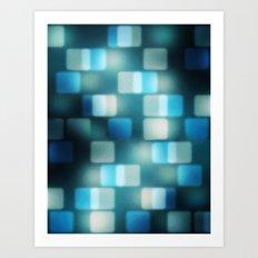 Movie Lights Art Print