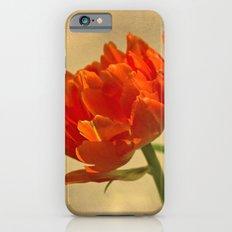 Orange Tulips Slim Case iPhone 6s