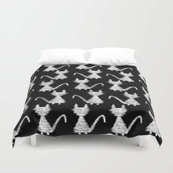 Cat pattern Duvet Cover
