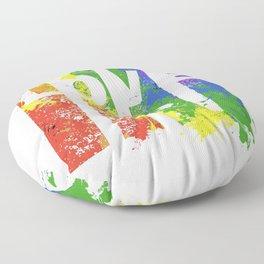 LOVE/COLOR Floor Pillow